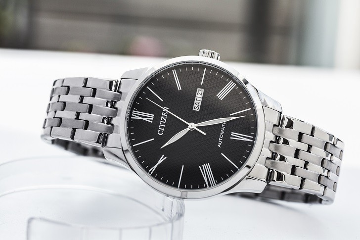Đồng hồ Citizen NH8350-59E automatic, trữ cót hơn 40 giờ - Ảnh 1
