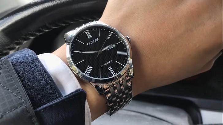 Đồng hồ Citizen NH8350-59E automatic, trữ cót hơn 40 giờ - Ảnh 2