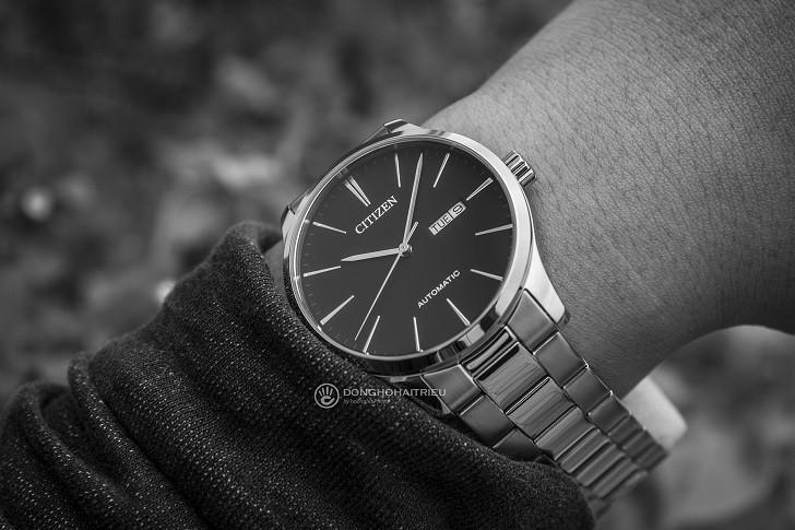 Đồng hồ Citizen NH8350-83E automatic, trữ cót hơn 40 giờ - Ảnh 2