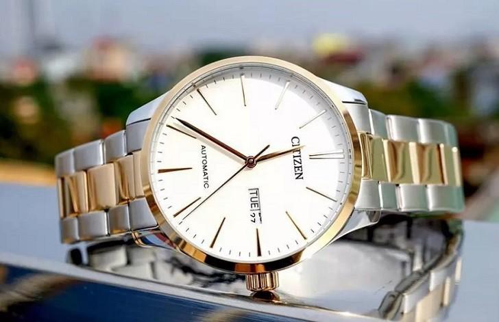 Đồng hồ Citizen NH8356-87A thời gian trữ cót hơn 40 giờ - Ảnh 1