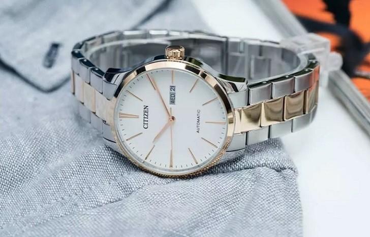 Đồng hồ Citizen NH8356-87A thời gian trữ cót hơn 40 giờ - Ảnh 2
