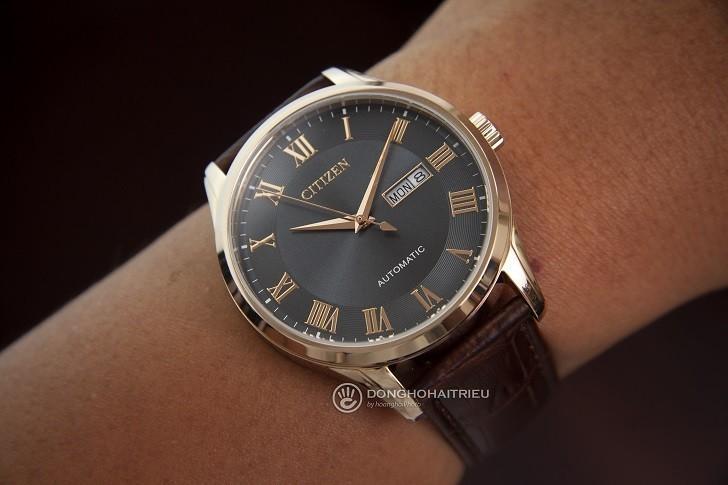 Đồng hồ Citizen NH8363-14H automatic, trữ cót hơn 40 giờ - Ảnh 2