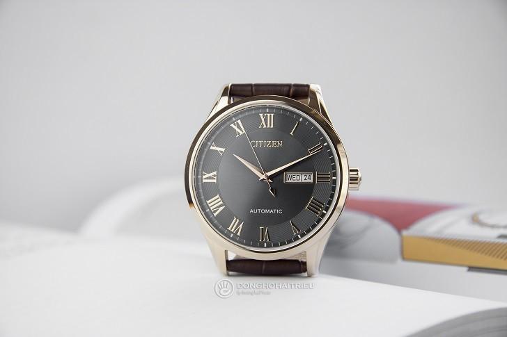 Đồng hồ Citizen NH8363-14H automatic, trữ cót hơn 40 giờ - Ảnh 5
