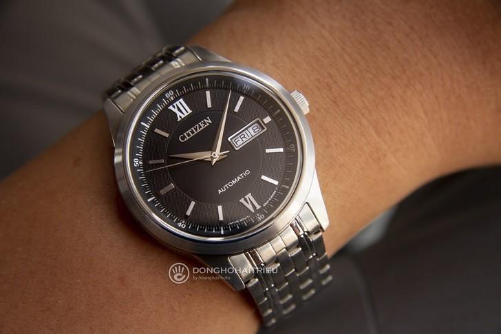 Đồng hồ Citizen NY4051-51E máy cơ, kính sapphire chống trầy - Ảnh 1