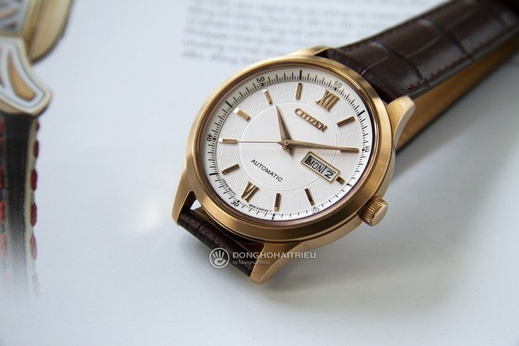 Đồng hồ Citizen NY4053-05A automatic, trữ cót đến 40 giờ - Ảnh 1