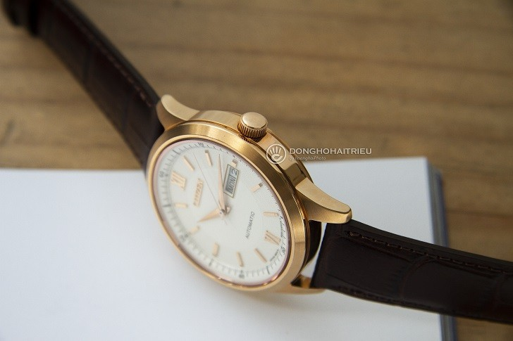 Đồng hồ Citizen NY4053-05A automatic, trữ cót đến 40 giờ - Ảnh 2