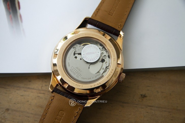 Đồng hồ Citizen NY4053-05A automatic, trữ cót đến 40 giờ - Ảnh 3
