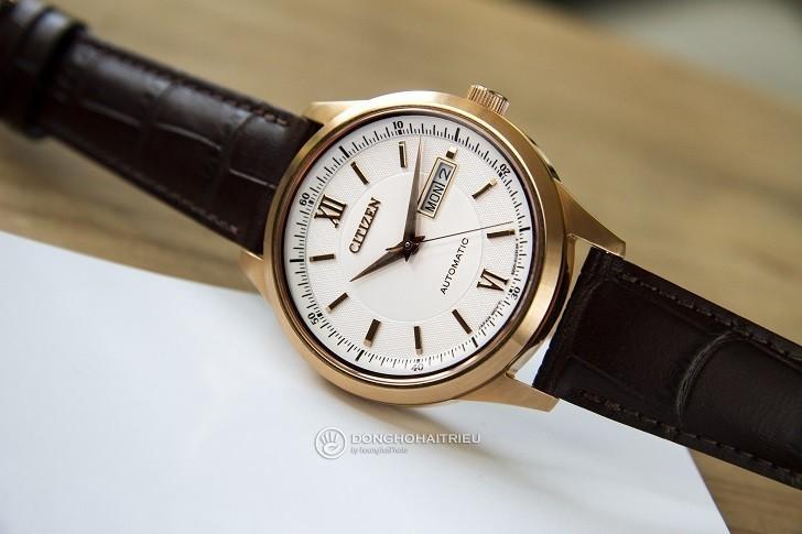 Đồng hồ Citizen NY4053-05A automatic, trữ cót đến 40 giờ - Ảnh 4