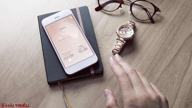 Smartphone Link, Công Nghệ Ưu Việt Của Đồng Hồ Thông Minh Casio App