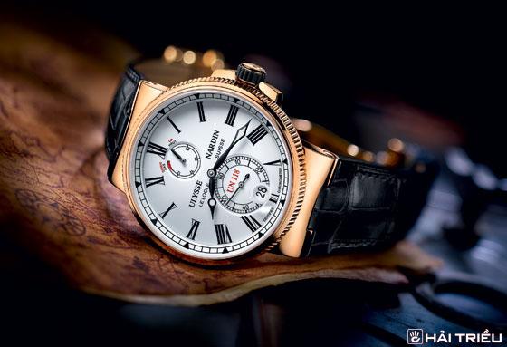 Tự Chế Vật Liệu Đồng Hồ Độc Quyền, Hãng Nào Làm Được? (Phần 2) Ulysse Nardin Marine Chronometer Manufacture
