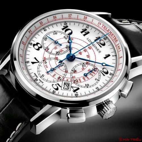 """5 Dòng Đồng Hồ Longines Chronograph """"CỰC ĐỘC"""" Đáng Sưu Tập Nhất Telemeter"""