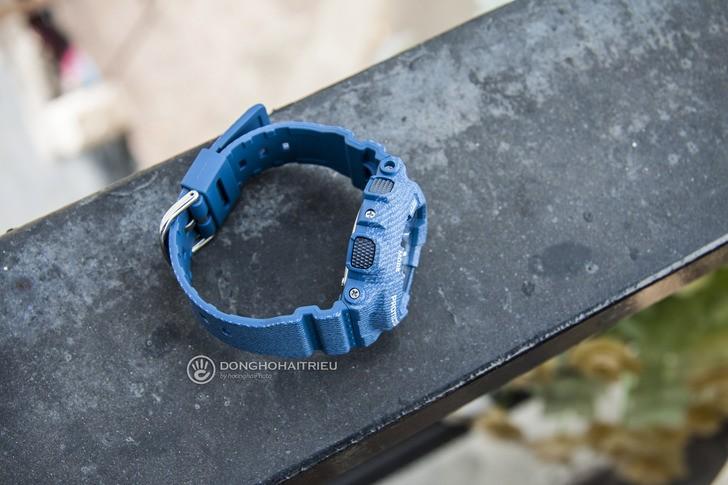 Đồng hồ Baby-G BA-110DC-2A2DR: Cảm hứng từ chất liệu jean - Ảnh 5