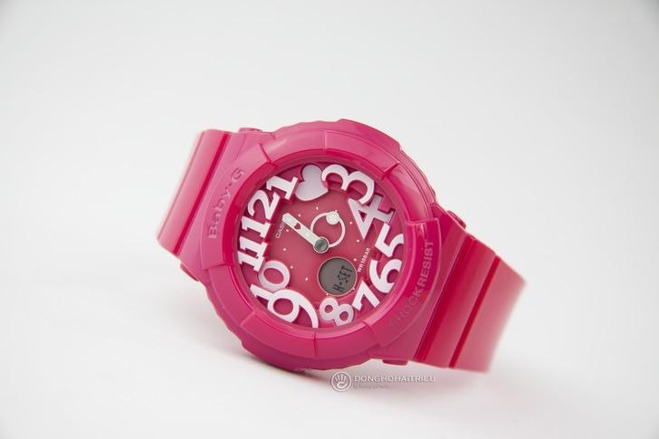Đồng hồ Baby-G BGA-130-4BDR sắc hồng nữ tính đầy ấn tượng - Ảnh 1