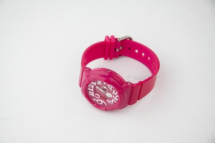 Đồng hồ Baby-G BGA-130-4BDR sắc hồng nữ tính đầy ấn tượng - Ảnh 5