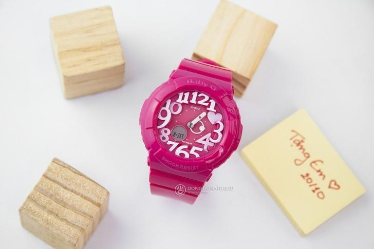 Đồng hồ Baby-G BGA-130-4BDR sắc hồng nữ tính đầy ấn tượng - Ảnh 2