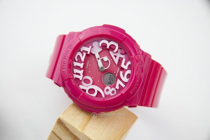 Đồng hồ Baby-G BGA-130-4BDR sắc hồng nữ tính đầy ấn tượng - Ảnh 3