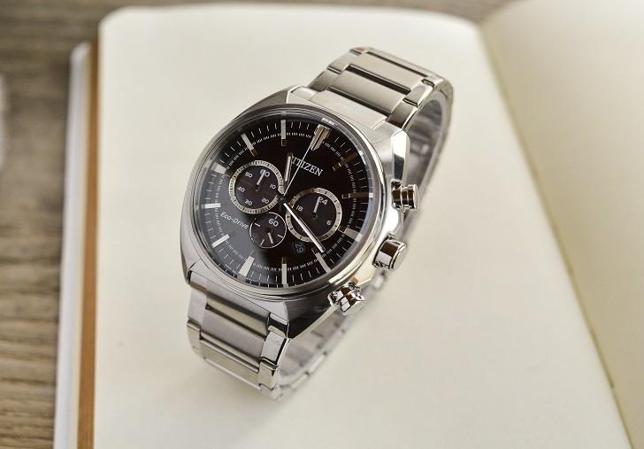 Citizen CA4280-53E đồng hồ thể thao nạp năng lượng ánh sáng - Ảnh 1