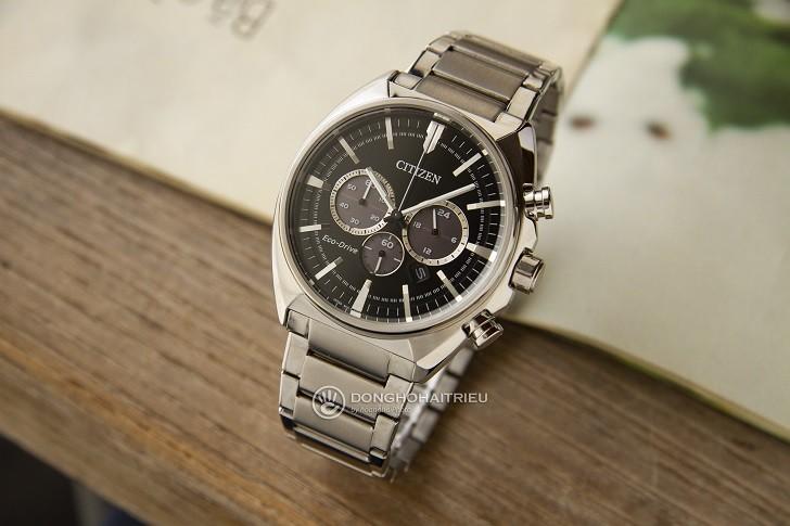 Citizen CA4280-53E đồng hồ thể thao nạp năng lượng ánh sáng - Ảnh 4