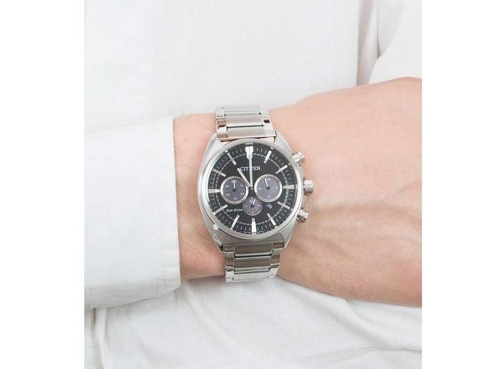 Citizen CA4280-53E đồng hồ thể thao nạp năng lượng ánh sáng - Ảnh 5