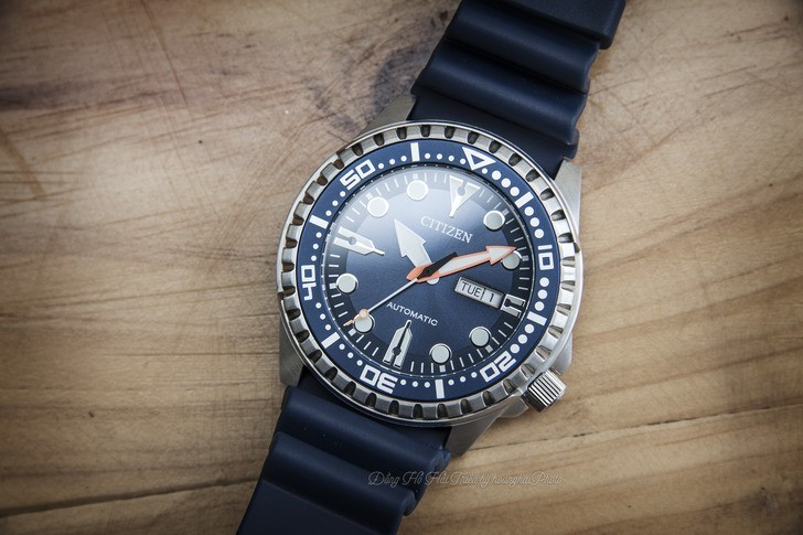 Đồng hồ Citizen NH8381-12L Automatic, trữ cót đến 40 giờ - Ảnh 2