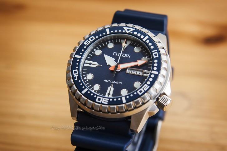 Đồng hồ Citizen NH8381-12L Automatic, trữ cót đến 40 giờ - Ảnh 6