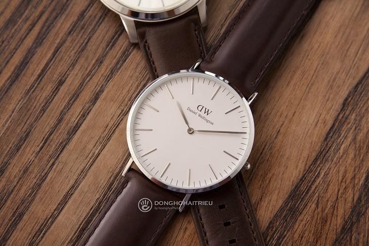 Đồng hồ nam Daniel Wellington DW00100023 thay pin miễn phí - Ảnh 2