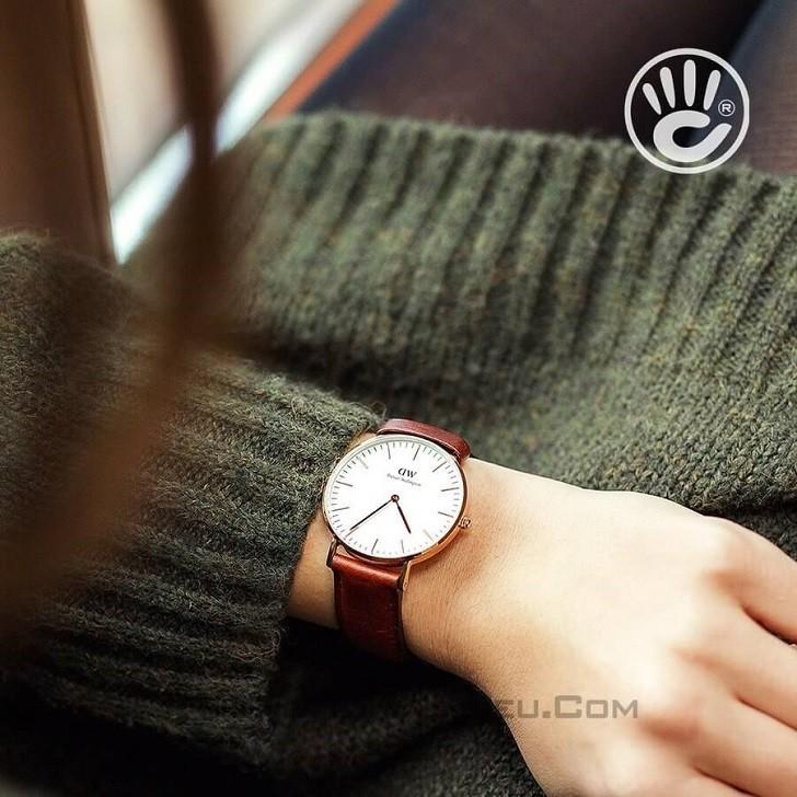 Đồng hồ nữ Daniel Wellington DW00100035 thay pin miễn phí - Ảnh 2