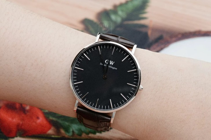 Đồng hồ nữ Daniel Wellington DW00100146 thay pin miễn phí - Ảnh 3