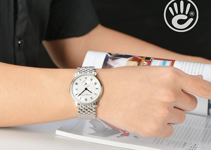 Đồng hồ Frederique Constant FC-245M4S6B máy quartz chính xác - Ảnh 1