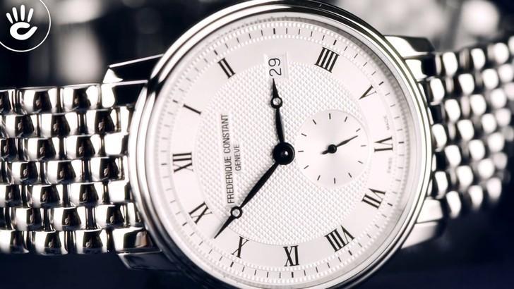 Đồng hồ Frederique Constant FC-245M4S6B máy quartz chính xác - Ảnh 5