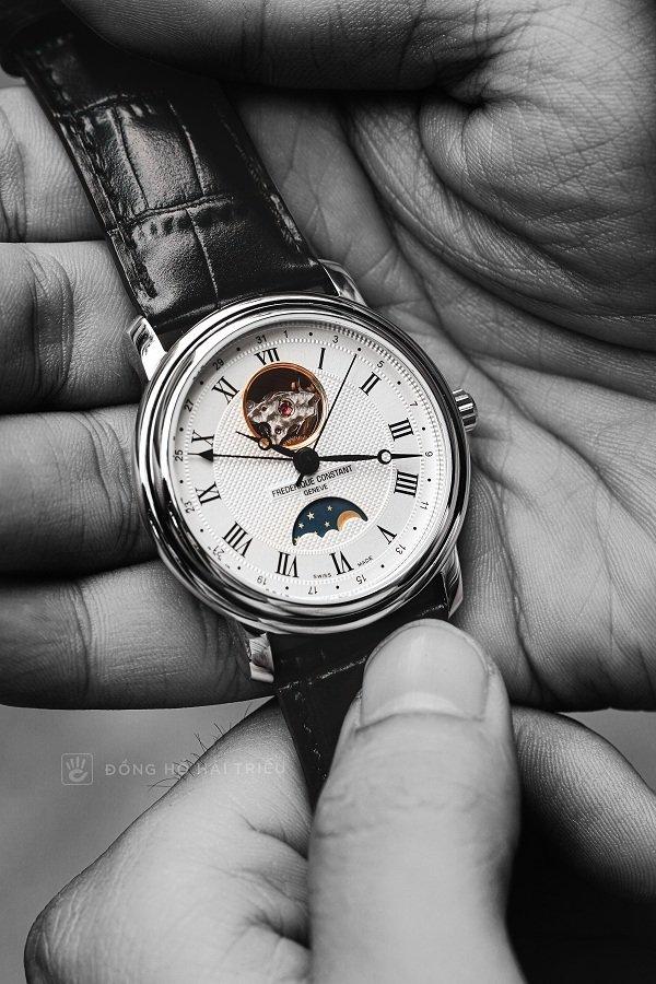 Đồng hồ cơ Frederique Constant FC-335MC4P6 trữ cót 40 giờ - Ảnh: 3