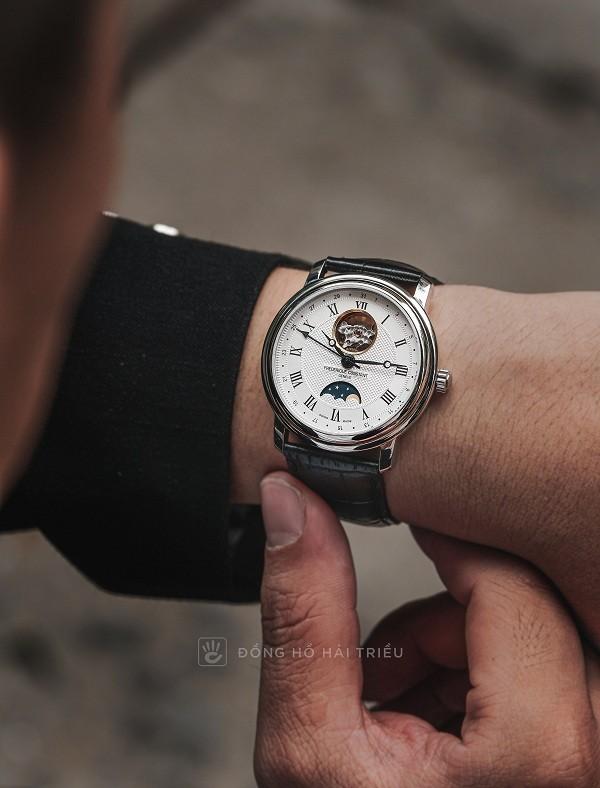 Đồng hồ cơ Frederique Constant FC-335MC4P6 trữ cót 40 giờ - Ảnh: 4