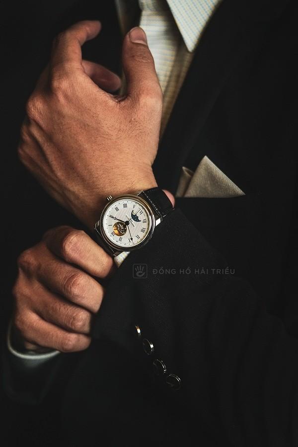 Đồng hồ cơ Frederique Constant FC-335MC4P6 trữ cót 40 giờ - Ảnh: 5