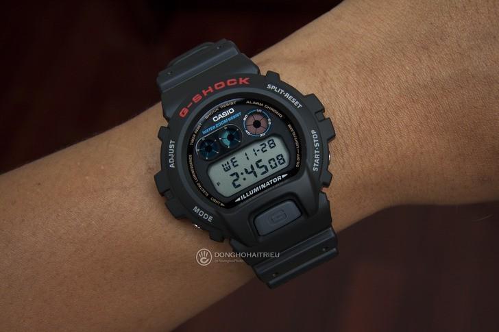 Đồng hồ G-Shock DW-6900-1VDR đơn giản, nam tính, giá rẻ - Ảnh 1