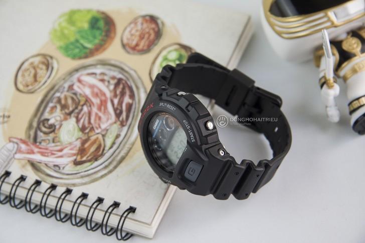 Đồng hồ G-Shock DW-6900-1VDR đơn giản, nam tính, giá rẻ - Ảnh 3