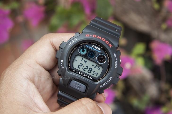 Đồng hồ G-Shock DW-6900-1VDR đơn giản, nam tính, giá rẻ - Ảnh 6