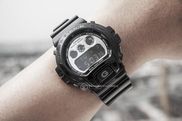 Đồng hồ G-Shock DW-6900NB-1DR giá rẻ, thay pin miễn phí - Ảnh 1