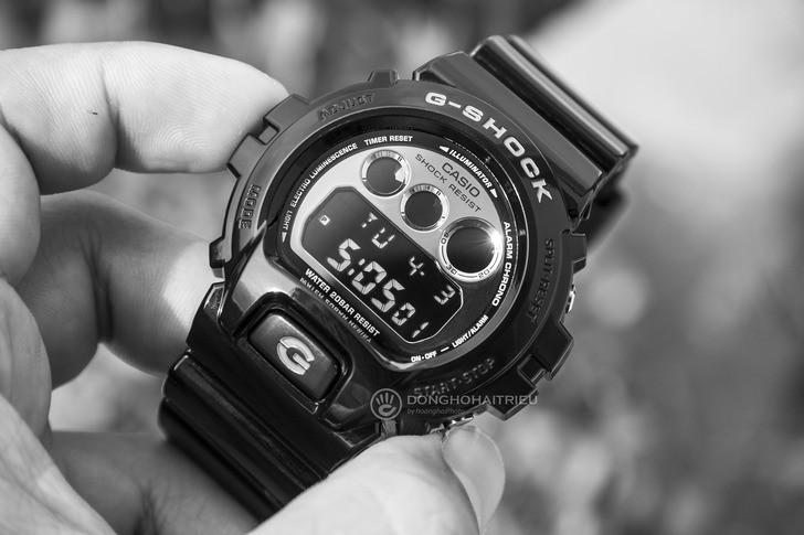 Đồng hồ G-Shock DW-6900NB-1DR giá rẻ, thay pin miễn phí - Ảnh 2