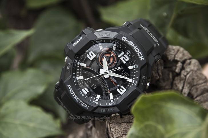 Đồng hồ G-Shock GA-1000-1ADR giá rẻ, thay pin miễn phí - Ảnh 1