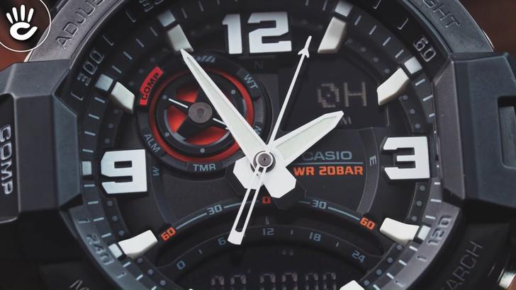 Đồng hồ G-Shock GA-1000-1ADR giá rẻ, thay pin miễn phí - Ảnh 3