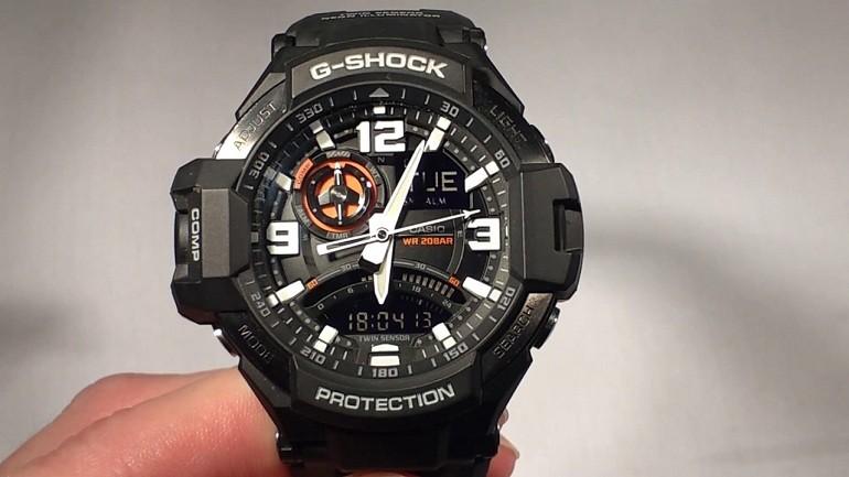 Đồng hồ G-Shock GA-1000-1ADR giá rẻ, thay pin miễn phí - Ảnh 6