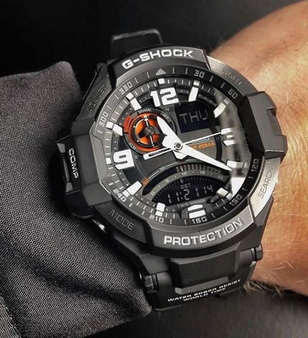 Đồng hồ G-Shock GA-1000-1ADR giá rẻ, thay pin miễn phí - Ảnh 8
