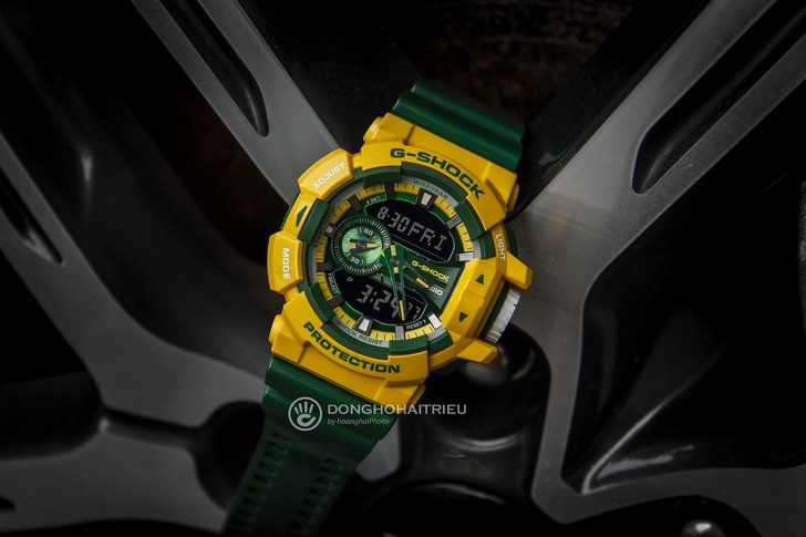 Đồng hồ G-shock GA-400CS-9ADR: Vẻ đẹp tươi trẻ và nổi bật - Ảnh 1