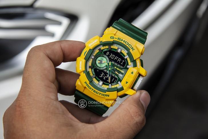 Đồng hồ G-shock GA-400CS-9ADR: Vẻ đẹp tươi trẻ và nổi bật - Ảnh 2