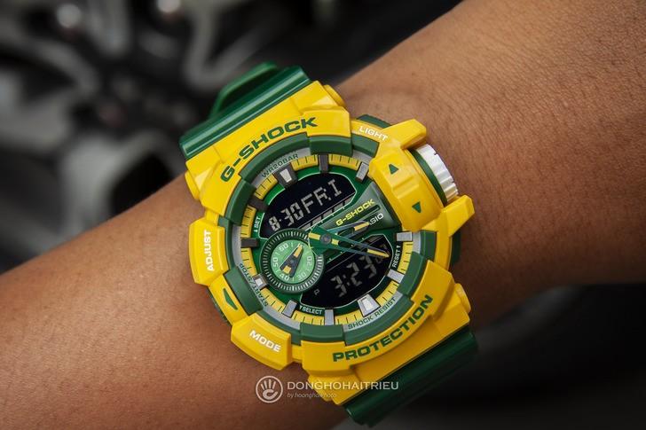 Đồng hồ G-shock GA-400CS-9ADR: Vẻ đẹp tươi trẻ và nổi bật - Ảnh 3