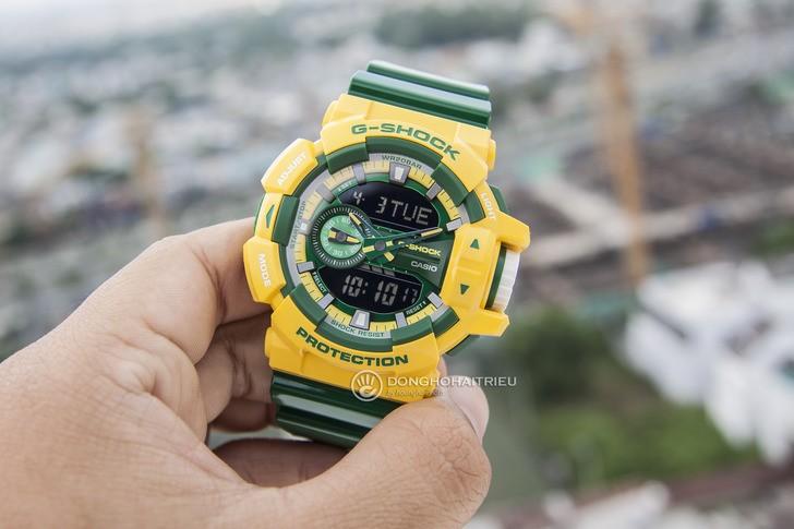 Đồng hồ G-shock GA-400CS-9ADR: Vẻ đẹp tươi trẻ và nổi bật - Ảnh 6