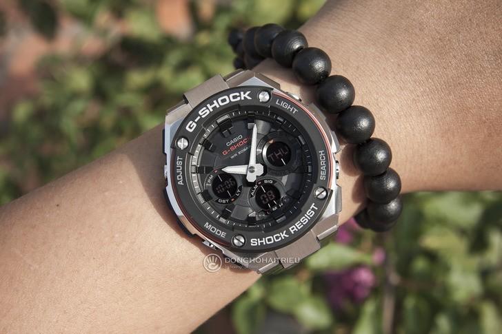 Đồng hồ G-shock GST-S100D-1A4DR: Vẻ đẹp cứng cáp và hiện đại - Ảnh 1