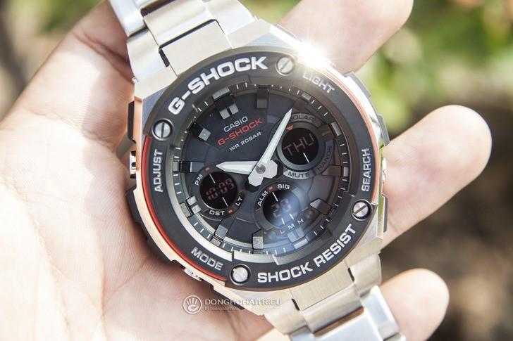 Đồng hồ G-shock GST-S100D-1A4DR: Vẻ đẹp cứng cáp và hiện đại - Ảnh 2
