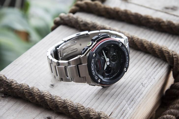 Đồng hồ G-shock GST-S100D-1A4DR: Vẻ đẹp cứng cáp và hiện đại - Ảnh 5