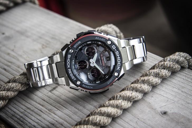 Đồng hồ G-shock GST-S100D-1A4DR: Vẻ đẹp cứng cáp và hiện đại - Ảnh 6